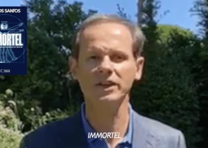message de jr dos santos annonçant la parution d'