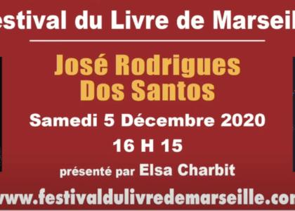 jr dos santos au festival du livre de marseille 2020 - interview elsa charbit