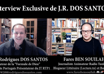 Book Talk avec le grand écrivain José Rodrigues DOS SANTOS invité de Fares BEN SOUILAH